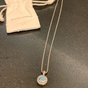 Authentic David Yurman Petite Albion Necklace